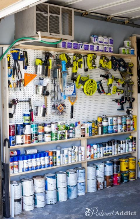 Shelving, Collection, Paint, Plastic, Plastic bottle, Bottle, Science, Food storage containers, Shelf, Solvent,