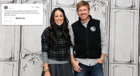 Chip and Joanna Gaines tweets