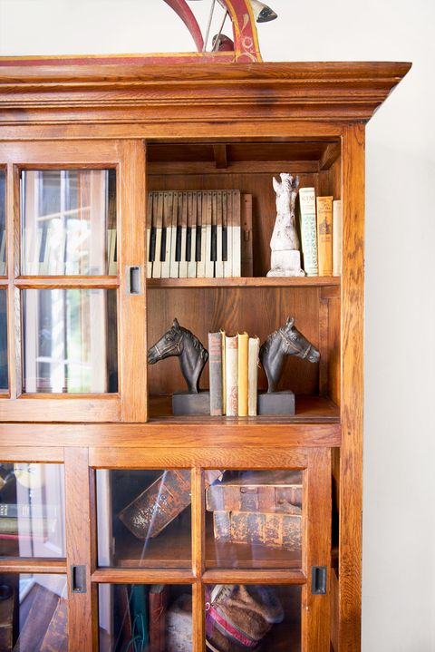 <p>Sheryl has amassed a large collection of antique books, equestrian-inspired pieces, vintage boxes, and, of course, Grammys (nine of 'em!).</p>