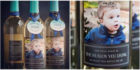 Nose, Blue, Cheek, Eye, Forehead, Bottle, Glass bottle, Label, Wine bottle, Publication,
