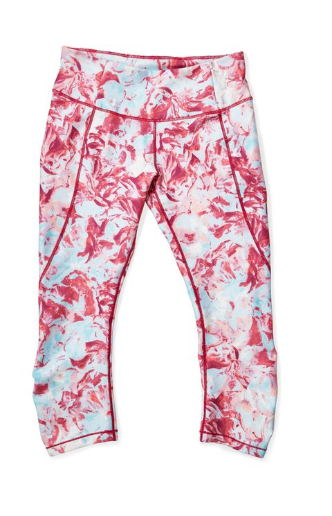 "<p>""I'm constantly chasing around a very mobile toddler, so I can usually be found in my CALIA gear. [She founded the athleticwear line in 2014.]"" <em>Printed Capris, $65&#x3B; <a href=""http://www.caliastudio.com/family/index.jsp?categoryId=89275896"" target=""_blank"">CaliaStudio.com</a></em></p>"