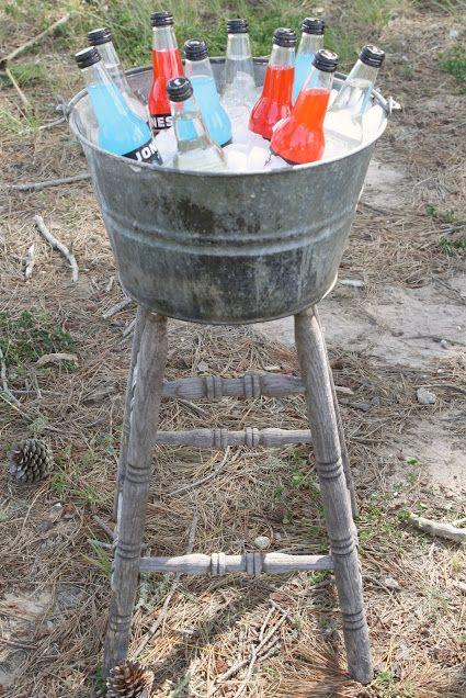 Crafts Using Galvanized Buckets
