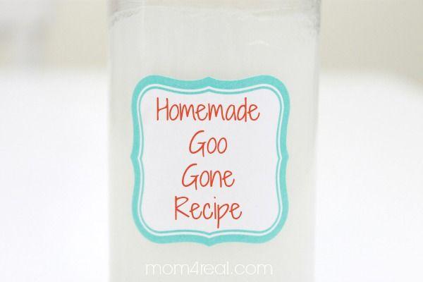 Homemade goo gone