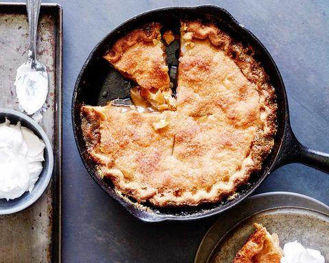 Mrs. Carter's Skillet Apple Pie Recipe