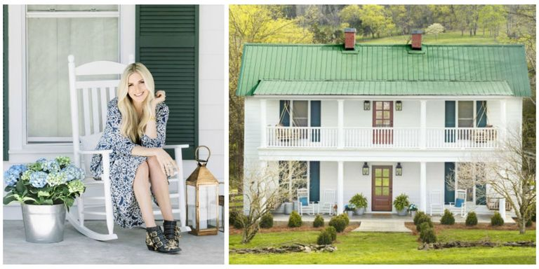 singer songwriter holly williams is transforming her tired farmhouse