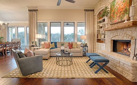 Wood, Floor, Interior design, Room, Flooring, Hearth, Home, Living room, Furniture, Table,