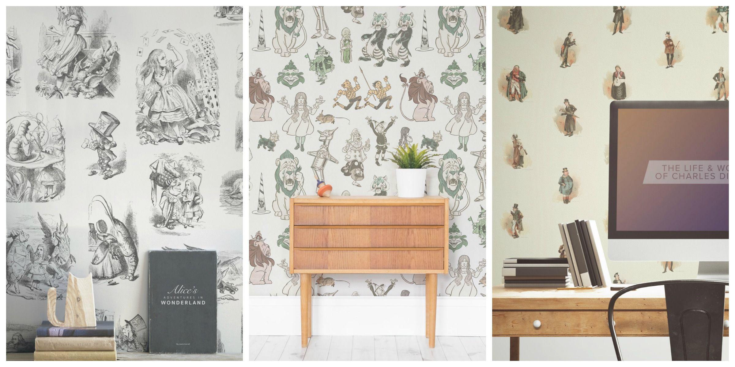 Wallpaper Inspired By Books Alice In Wonderland Wallpaper