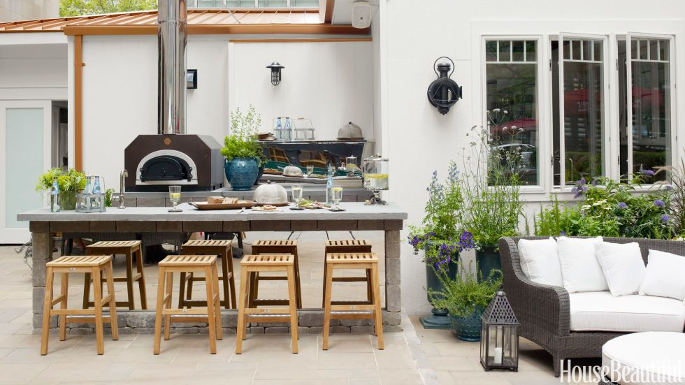 Genial 15 Best Outdoor Kitchen Ideas And Designs   Pictures Of Beautiful Outdoor  Kitchens