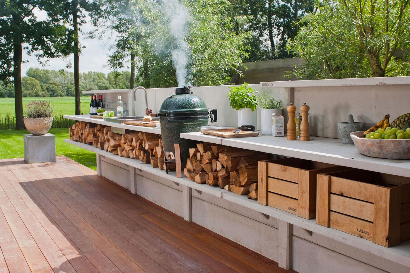 9 Best Outdoor Kitchen Ideas and Designs   Pictures of Beautiful ...