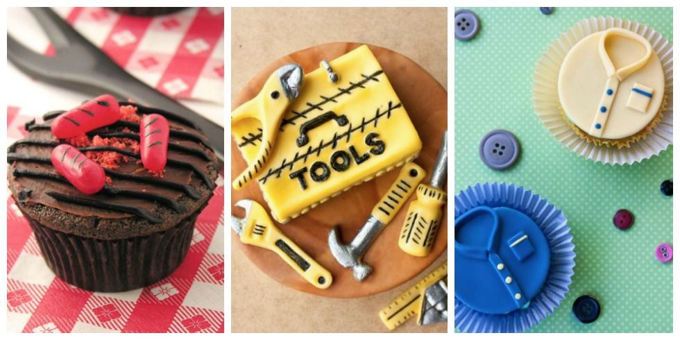 10 Delicious Father's Day Cake and Cupcakes — Recipes & Ideas for
