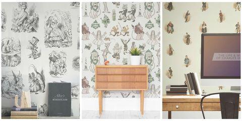 Room, Furniture, Sideboard, Table, Interior design, Interior design, Drawer, Display device, Desk, Wallpaper,