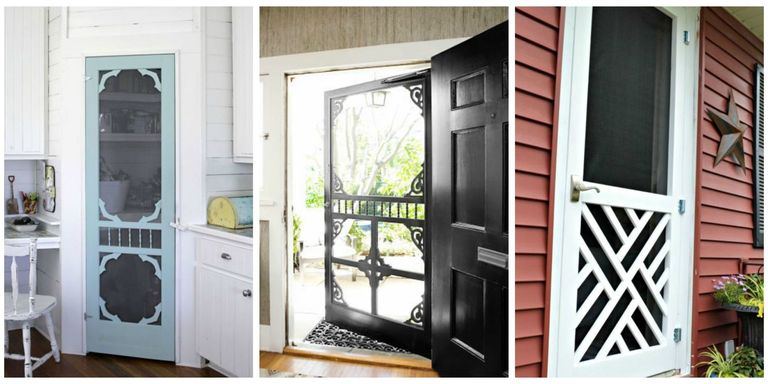 Famous Screen Door Ideas - Ways to Use Screen Doors SJ26