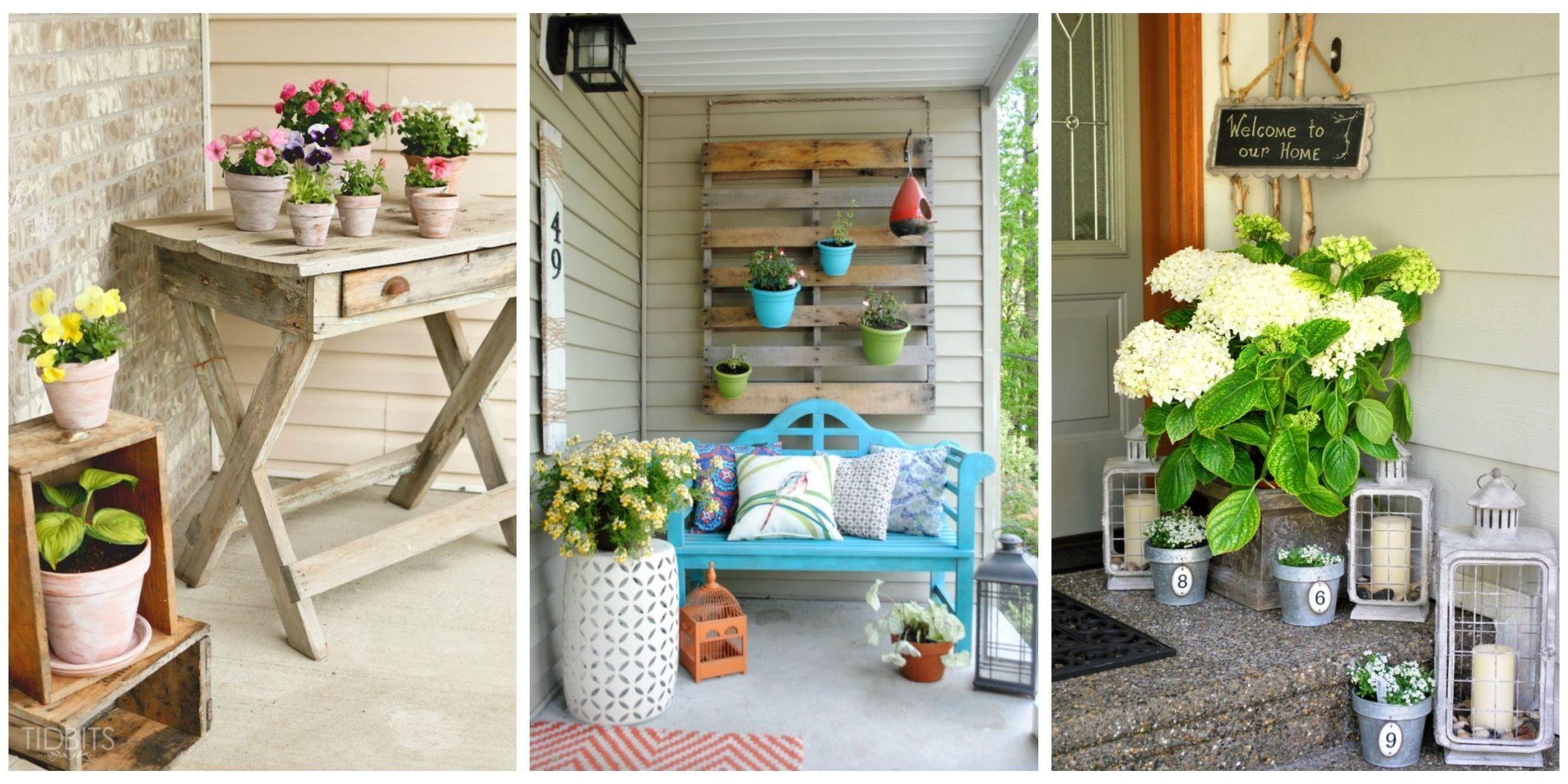 Porch decor pictures