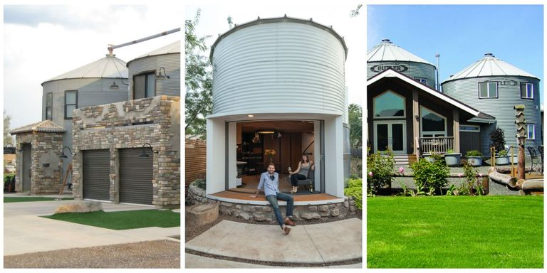 Silos converted to houses non traditional homes for Silo home floor plans