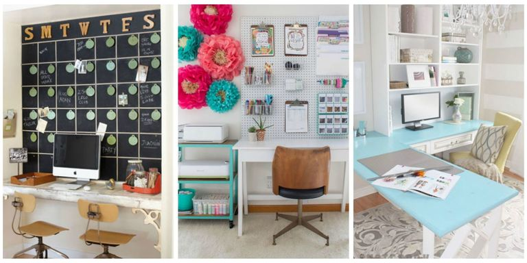 ideas for home office. These Smart Workspaces And Beautiful Ideas Are As Creative You Are\u2014whether Have Space For Just A Desk, An Extra Room All To Yourself, Or Standalone Home Office