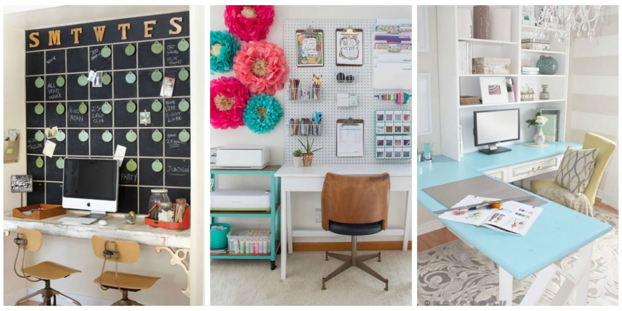 These Smart Workspaces And Beautiful Ideas Are As Creative As You  Areu2014whether You Have Space For Just A Desk, An Extra Room All To Yourself,  Or A Standalone ...