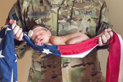 Soldier, Military camouflage, Military uniform, Camouflage, Military person, Baby & toddler clothing, Pattern, Baby Products, Army, Military,