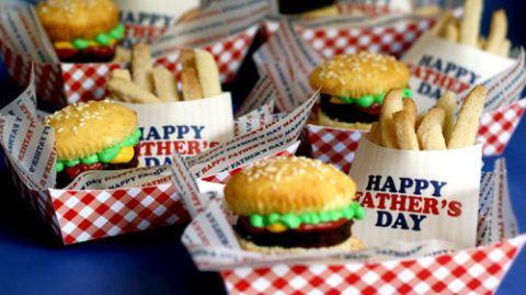 Brownie Burger Cupcakes