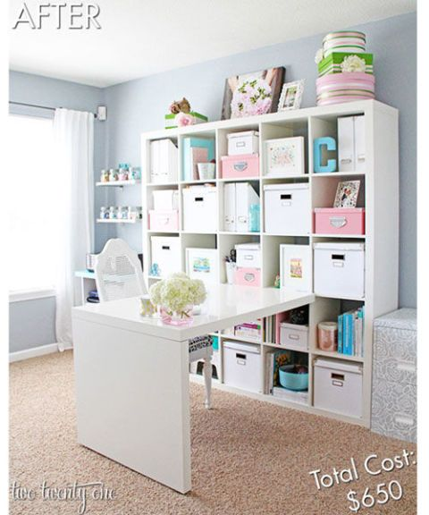 Home Offices In Small Spaces: How To Decorate A Home Office