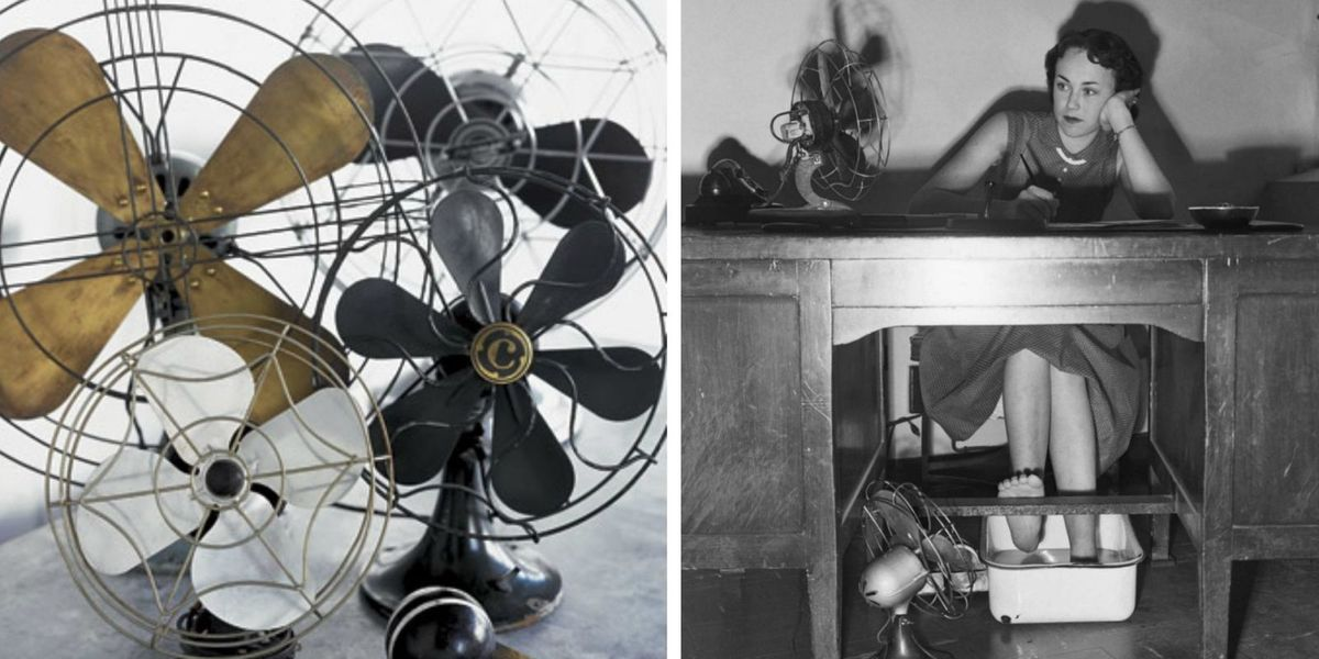 Buying Electric Fans : Antique electric fans buying vintage