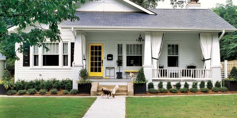 Home, House, Property, Siding, Real estate, Building, Estate, Architecture, Porch, Yard,