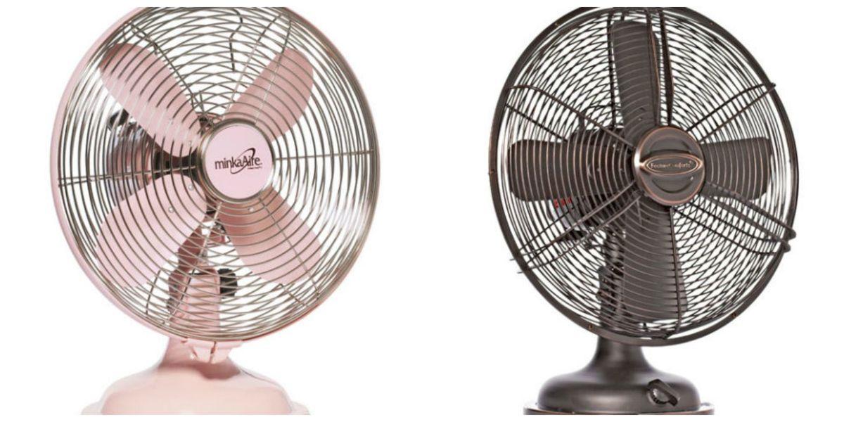 Retro Electric Fan