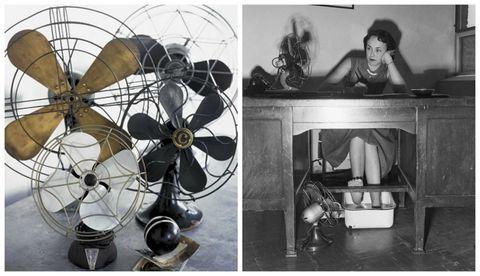 Mechanical fan, Circle, Propeller, Silver, Steel, Aluminium, Electric fan,