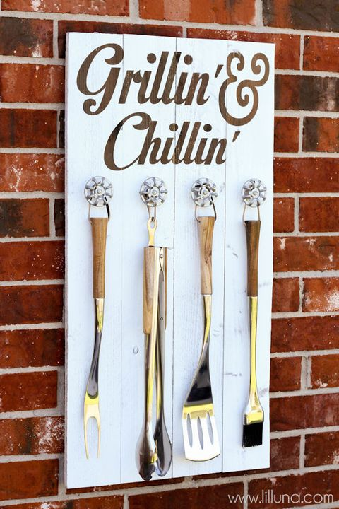 diy gifts for dad grill set holder