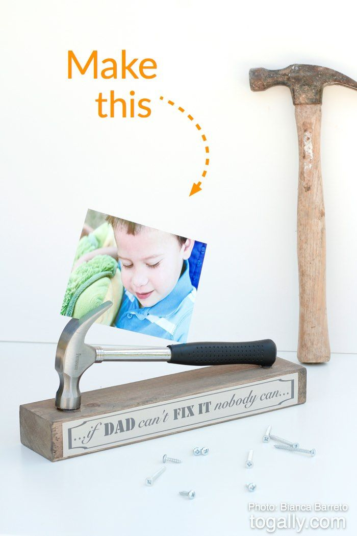43 DIY Gifts For Dad