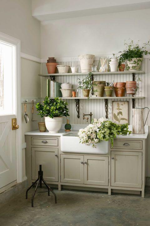 Room, Interior design, White, Wall, Flooring, Floor, Drawer, Interior design, Cabinetry, Fixture,