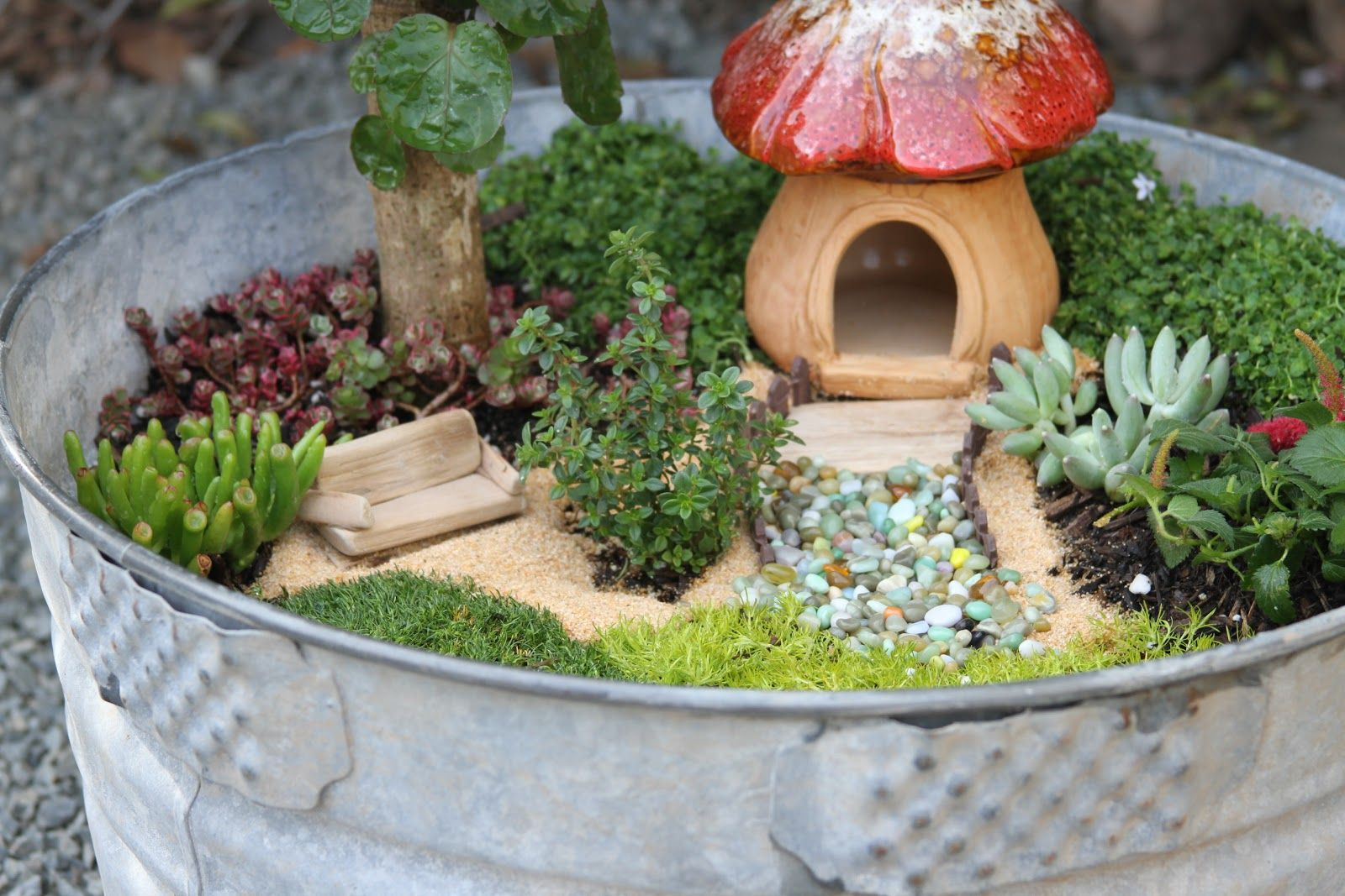 15 DIY Fairy Garden Ideas - How to Make a Miniature Fairy Garden