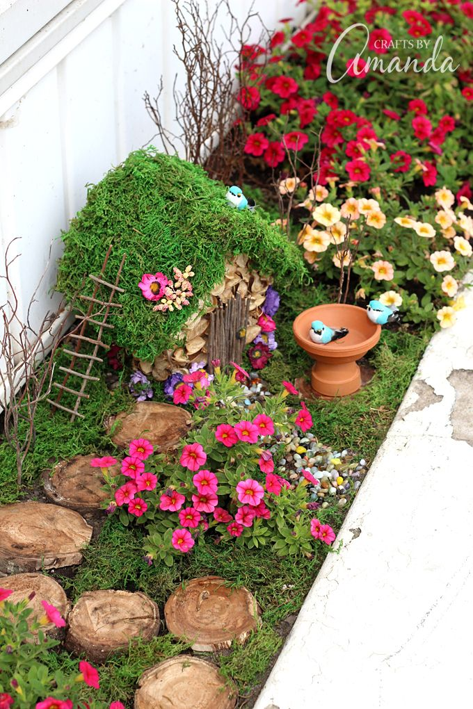 15 diy fairy garden ideas how to make a miniature fairy garden - Fairy Garden Miniatures