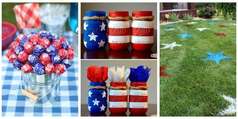 Mix 18 Festive Diy Ideas For The Ultimate 4th Of July Party