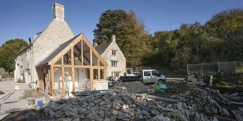 Property, House, Roof, Home, Real estate, Cottage, Rubble, Siding, Lumber, Log cabin,