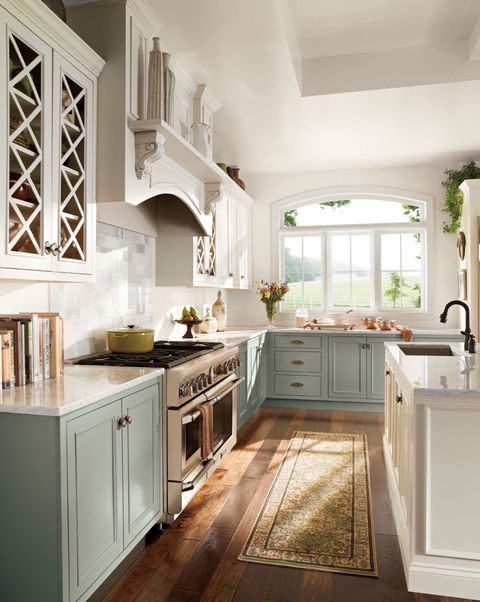 Two Toned Kitchen Cabinets Painting Your Kitchen Cabinets