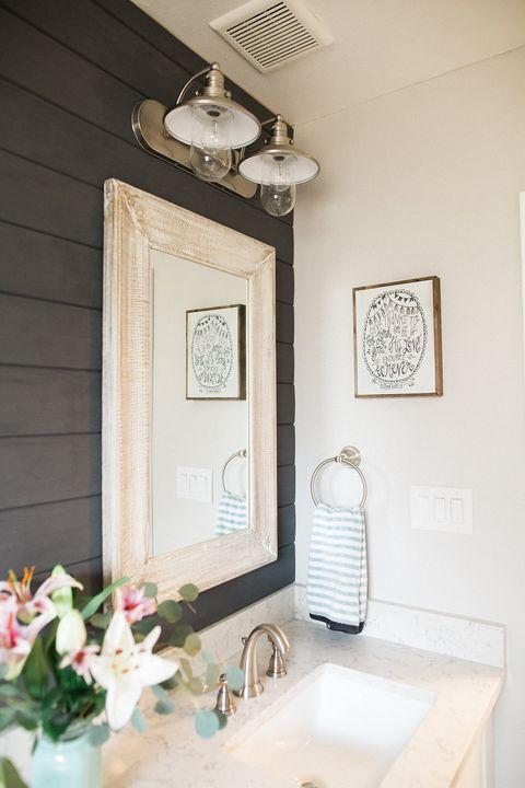 Seabrook Styles Shiplap Makeover Bathroom Makeover Ideas