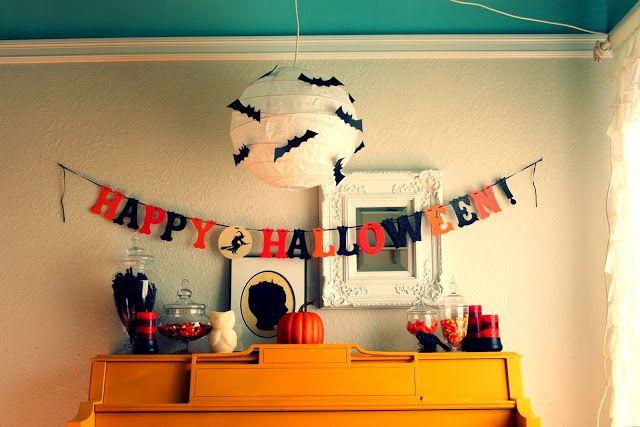 40+ Easy DIY Halloween Decorations - Homemade Do It Yourself ...
