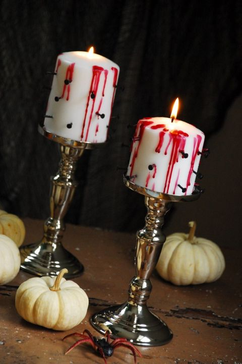 Diy Hallowen Decorations Candles
