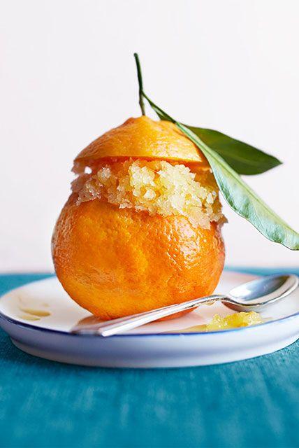 Orange Granita