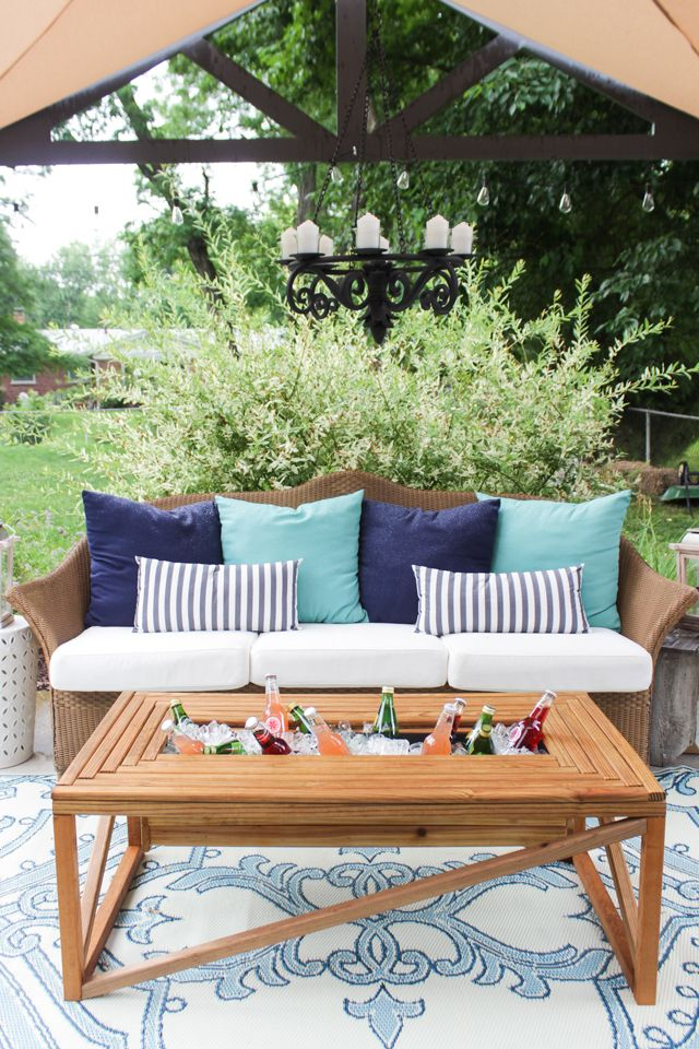 Your Outdoor Coffee Table Is About to Get a Whole Lot Cooler