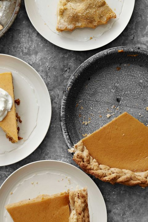 pumpkin pie with walnut crust recipe