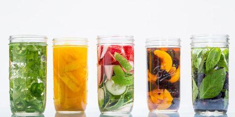 Produce, Ingredient, Food, Fluid, Glass, Liquid, Tableware, Mason jar, Food storage containers, Drink,