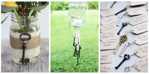 8 Beautiful Ways to Display Vintage Keys - Skeleton Key Crafts and Ideas