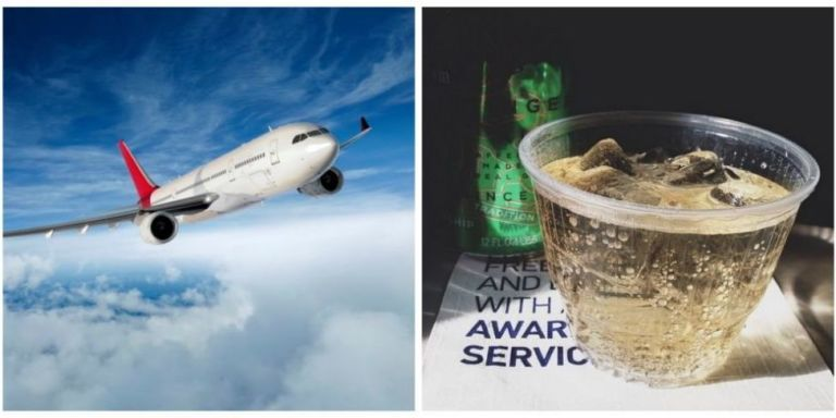 This Is Why You Should Only Order Ginger Ale On A Flight