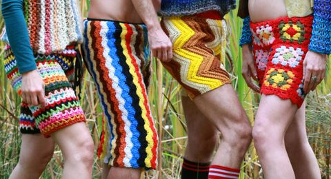 Textile, Human leg, Joint, Style, People in nature, Pattern, Wrist, Tradition, Rope, Fashion design,