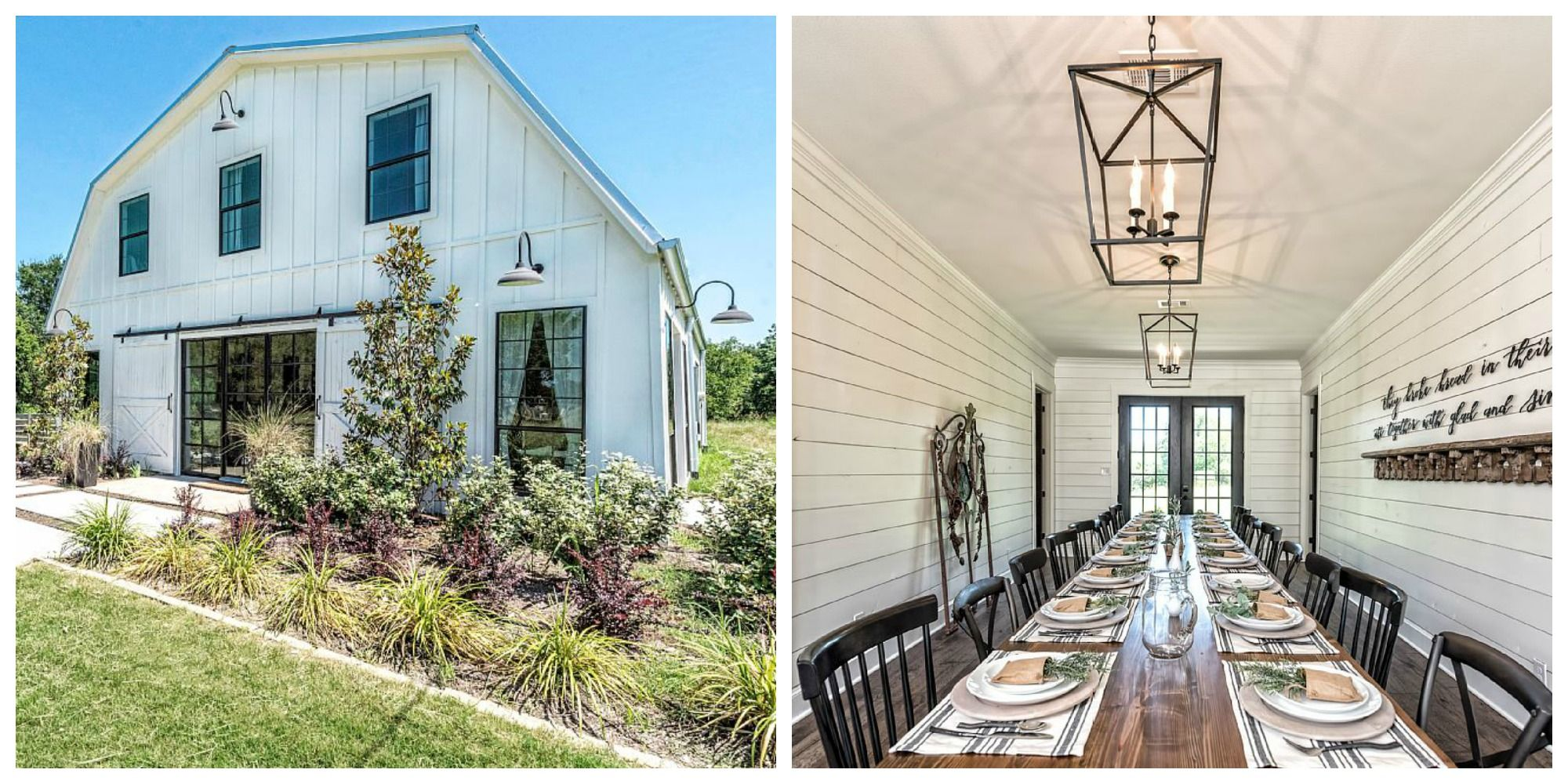 This Barndominium From Fixer Upper Is Now Available To Rent Waco Texas Home Rentals