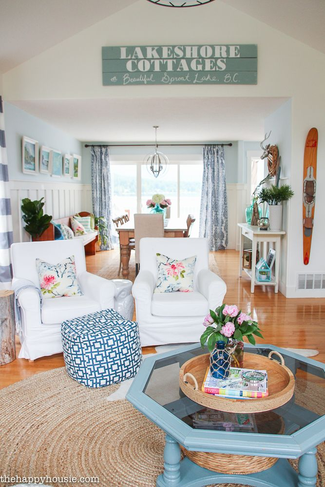 30 Summer Decorating Ideas - Easy Ways to Decorate Your Home for Summer