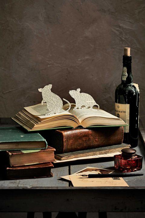 Glass bottle, Bottle, Drink, Alcohol, Alcoholic beverage, Barware, Distilled beverage, Still life photography, Publication, Book,