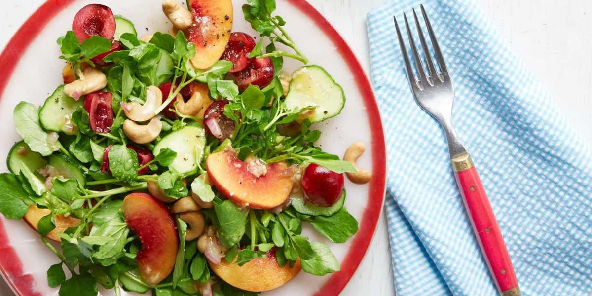 Best Gingery Watercress-and-Cherry Salad Recipe ...