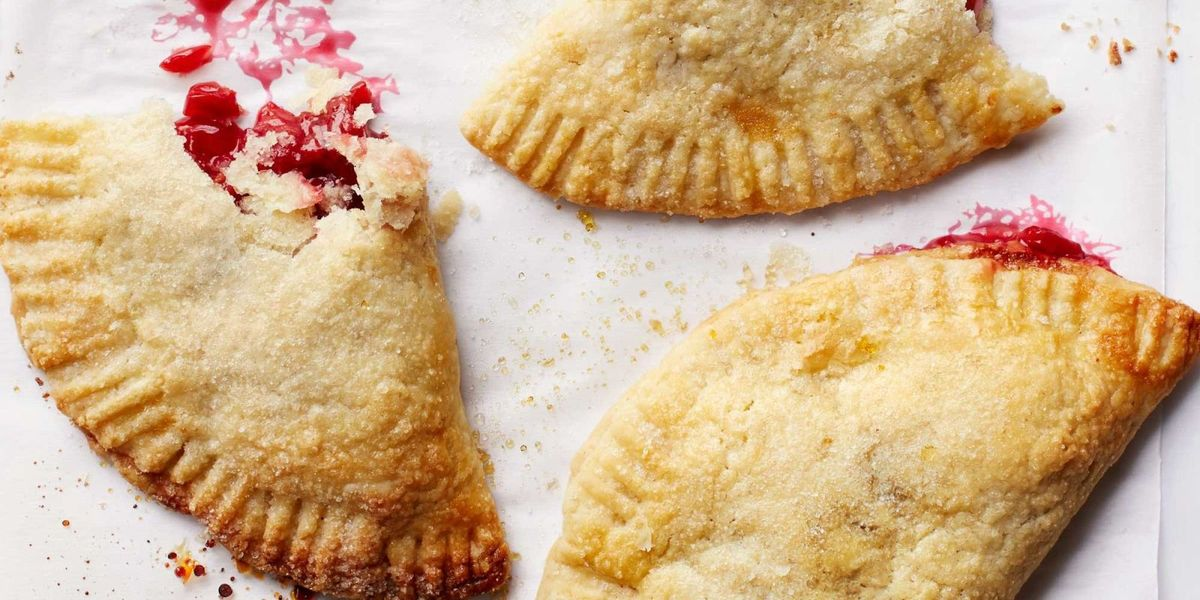 best sour cherry hand pies recipe countryliving com